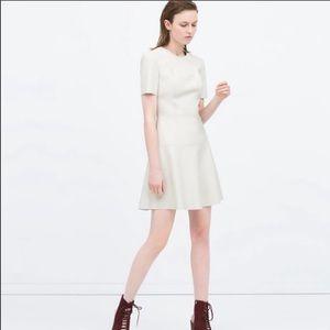 Zara leatherette dress